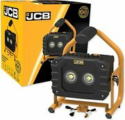 Jcb-plt20-20w Led Rechargeable Portable Flood Spot Light - Up To 14 Hours Run Ti