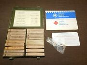 Vintage 1964 1966 Bell System Telephone Metal First-aid Kit Box Complete
