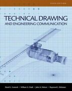 Technical Drawing And Engineering Comunication, Hardcover By Goetsch, David L...