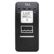 Carling Boat Rocker Switch Cover | Livewell 2 / Fill Plastic Actuator