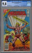 Masters Of The Universe 1 Cgc 9.8 He-man Newsstand Dc 1st White Pages Super Htf