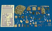 Royal Model 1/35 Wwii German Army Equipment Pouches, Helmets, Straps   203