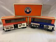 Lionel 6-29961 Introducing The Beatles Boxcar 2-pack New O Gauge