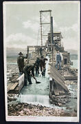 Mint Usa Picture Postcard Cleaning Up On Gold Dredge