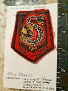 Original In-country South Vietnam Marine Embroidered Shoulder Patch And039hac Long Dr