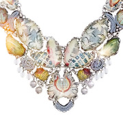 Ayala Bar Radiance Collection Large Marble Beach Necklace