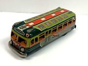 Marusan Greyhound Lines Bus Friction Tin Litho Friction