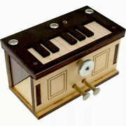 Piano Box Sequential Discovery Puzzle Box By Jean Claude Constantin