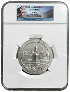 2011 P Gettysburg Ngc Sp70 America The Beautiful Atb 5 Oz Silver Coin Sp 70