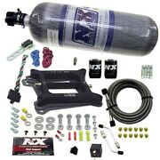 Nitrous Express 30045-12 Conventional Stage 6 Nitrous Plate System