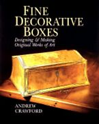 Fine Decorative Boxes Designing And Making Original Works Of Art By Crawford New