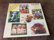 Springbok Jigsaw Puzzle Dogs Puppies Challenger Series 6 Puzzles 80 Pieces Each