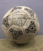Peleand039s Autographed Collectible Ball Football