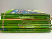 Lot Of 9 Leap Frog Tag Reader Books Disney Marvel Seuss Toy Story