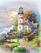 Springbok Puzzles - Signal Point - 500 Piece Jigsaw Puzzle - Large 18 Inches By