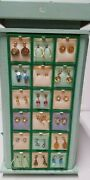 Bulk -vintage 72 Earrings 14k Gold Wires On Costume Jewelry New Old Stockandnbsp