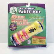 Leap Frog Twist And Shout Addition Brand New Leapfrog Sealed