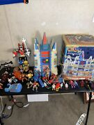 1984 Castle Of Lions With Box Voltron Panosh Place Playset Whole Collection Lots