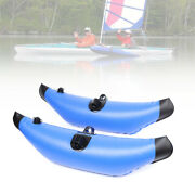 1 Pair Kayak Inflatable Outriggers Canoe Fishing Boat Standing Float Stabilizer