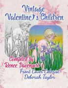 Vintage Valentineand039s Children Grayscale Adult Coloring Book Like New Used F...