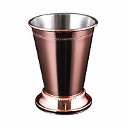 Moscow Beaded Home Stainless Steel Beer Mint Julep Cup Easy Clean Cocktail Glass