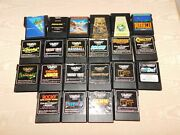 Vintage 22 Old Video Games For Coleco Vision Gaming System Just The Games