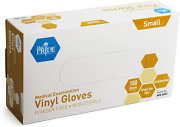 Medpride Medical Vinyl Examination Gloves Small, 100-count Latex Free Rubber |