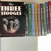The Three Stooges The Ultimate Collection Dvd Box Heavy Wear