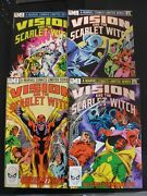 Vision And The Scarlet Witch - Complete 4 Issue Ltd Series. Marvel 1982. Scarce