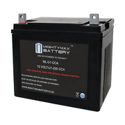 Mighty Max Ml-u1 12v 200cca Battery For Craftsman 25780 Lawn Tractor And Mower