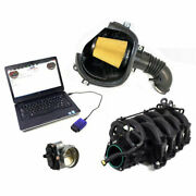 Ford Performance M-9452-m8 Mustang Power Pack Kit 3 Gt350 Cold Air Intake 87mm T