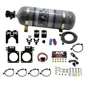 Nitrous Express 20717-12 For Nissan Gt-r R35 Nitrous Plate System 50-150 Hp 12 L