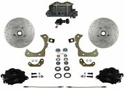 Leed Brakes Fc1010-305x Front Disc Brake Kit W/ Factory Spindles Chevy Tri-five