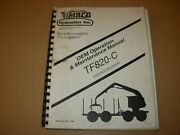 Timbco Tf820-c Hydro-skidder Operation And Maintenance Manual Issued 1998