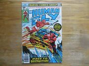 1977 The Human Fly 2 With Ghost Rider Signed By Carmine Infantino Coa, Poa