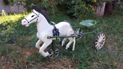 Selling Children's Pedal Horse 1991 Ussr