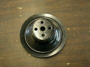 Nos Oem Ford 1971 1972 Mustang 302 351 Water Pump Pulley Cougar Torino Galaxie