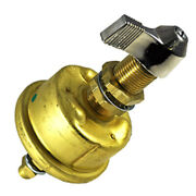 Cole Hersee Single Pole Brass Marine Battery Switch - 175 Amp - Continuous 80...