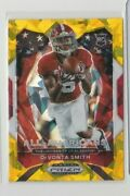 Devonta Smith And03921 Panini Prizm Draft Picks Gold Ice Rookie-get This Card Today