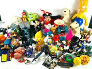 Lot 50+ Vintage Toy Lot Simpsons Toy Story Mickey Mouse Snoopy