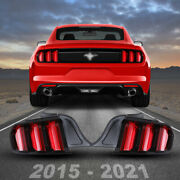 Led Tail Lights For Mustang Tail Light 2015-2020 Led W/ Sequential Rear Lights