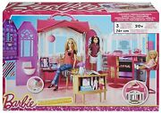 Barbie Glam Getaway House Bed And Bath Playset Multi