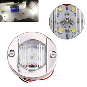 4x 147lm Led Stainless Steel Transom Boat Navigation Lamp Anchor Stern Light Tb