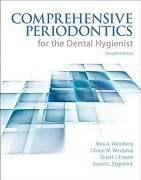 Comprehensive Periodontics For The Dental Hygienist Paperback By Weinberg M...