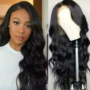 Body Wave Lace Human Hair Wig With Baby Hair Glueless Pre Plucked 131 Lace Wigs