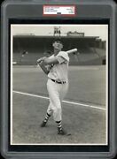 Ted Williams 1950 Red Sox Type 1 Original Photo Woodruff Psa/dna Crystal Clear