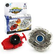 B-17 Beyblade Odax / Odin Central Blow Burst Starter Set With Launcher Hot Toys