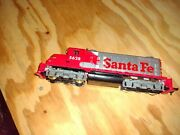 New Ho Train Set. Never Used. Includes Sante Fe Engine, 3or 4 Cars, A...
