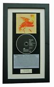 The Bravery+honest Mistake+classic Cd Gallery Quality Framed+express Global Ship