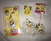 3 Pikachu Keychains From Japan Pokemon Cute Adorable Japanese Food